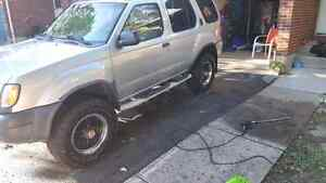 Looking to trade my 2001 nissan xterra