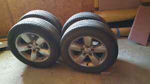 Ram 1500 rims and tires