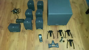 Creative s750  7.1 surround system 700watts complete