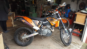 2008 KTM 530 EXC-R On/Off Rd. Low Km.
