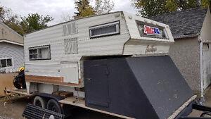 Toy Hauler/Truck Camper/Flat Deck/Tandem Axle trailer