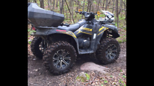 Brute force 750 fuel injected power steering