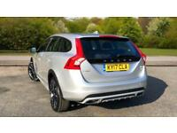 2017 Volvo V60 D4 AWD Cross Country Lux Nav A Automatic Diesel Estate