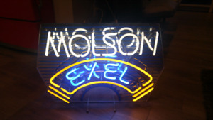Molson and Coors neon signs