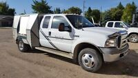 2005 Ford F-350 4x4 dually Supercab chassis