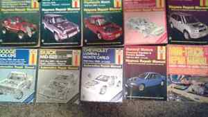 Haynes Manuals For Sell, GOOD CONDTN