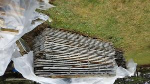 Rough sawn White Ash lumber