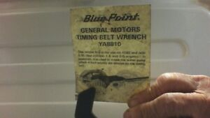 Blue point wrench