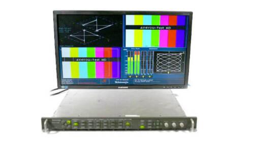 Tektronix WVR7120 Waveform Rasterizer Opt: SD HD DL DDE WVR 7120