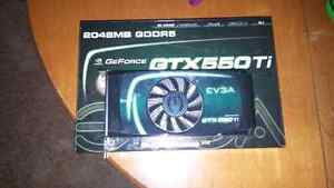 Gtx 550ti 2 gig.      good graphics card