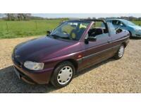 1996 Ford Escort 1.6i Calypso Cabriolet 2dr CONVERTIBLE Petrol Manual