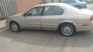 2000 Nissan Maxima GLE for sell AS IS asap