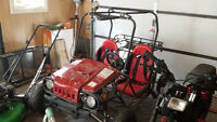 go kart for sale with roll cage