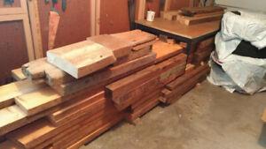 Lot Planche Bois Récupéré / Reclaimed Wood Lumber Lot $400
