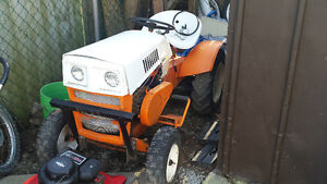 1971 sears lawn tractor side shafts and mower deck