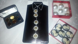 FS: 4 Sets of Clothes Button Covers