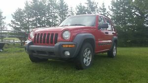 2003 Jeep Liberty Sport B Package SUV