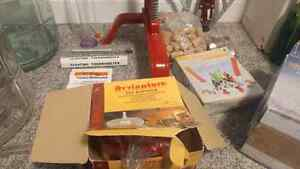 Wine making kit. Brand New! With wine filter.  London Ontario image 4