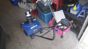 15 in Electric Snowblower
