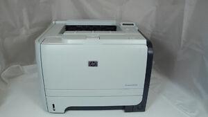 Used HP Printer P2055dn with toner cartridge
