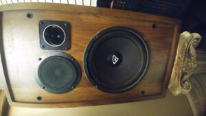 Cerwin Vega HED U 103 speakers