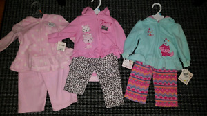 3 baby girl outfits