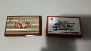 2 Nintendo Game & Watch Systems  - Safebuster & Donkey Kong 2