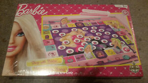 Brand new shop with Barbie memory game only $7 Factory sealed!!! London Ontario image 1