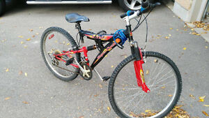 Dual suspension 18 speed Supercycle XTI
