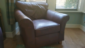 Marks and Spencer leather chair