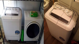 Looking for apartment style washer and dryer set 110 volt