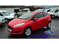 2016 Ford FIESTA RED PETROL CAR 1.25 ( 82ps ) ZETEC