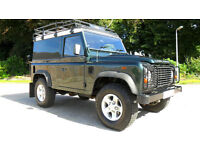 LAND ROVER DEFENDER 90 2.4 TDi COUNTY PACK, '61', 73k, FSH, 1 OWNER, NO VAT!!!
