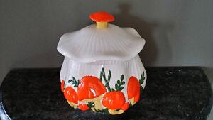 Vintage Mushroom Ceramic Soup Tureen