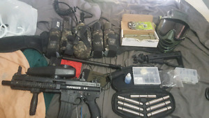 Tippmann A5 with E-grip and more