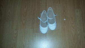 FIRST COMMUNION DRESS AND SHOES