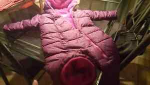 Columbia baby girl snowsuit.
