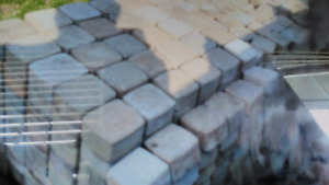 Luxury patio stones 1500 . Great to do side walk and driveway