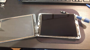 Ipad 2 mini Retina screen and digitizer glass and battery