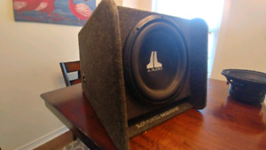 """12"""" JL Audio Sub and Box for sale"""