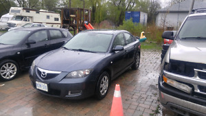 2008 Mazda 3 sedan 5 speed manual