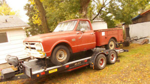 1967 GMC 3/4 ton 4 speed with factory ordered side tool boxes