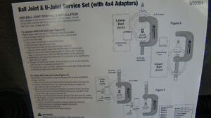 NEW BALL JOINT & U-JOINT SERVICE SET (with 4WD  Adapters) Campbell River Comox Valley Area image 3