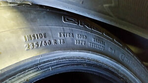 235 60 R18 Continental UHP tires