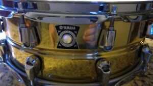 Yamaha Brass snare drum for sale