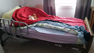 Hospital bed for home care
