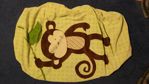 Monkey Change Table Cover