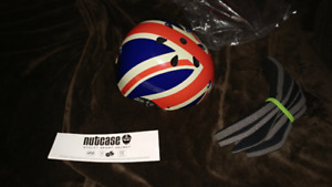 Nut Case Union Jack adjustable helmet