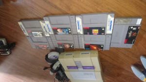 Snes+controllers+games