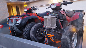 Parting out 2 honda rubicon 500s